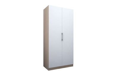 Двукрилен гардероб ЕД - по проект