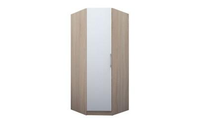 Еднокрилен ъглов гардероб ЕД 2 по проект - ляв/десен