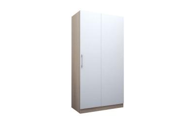 Еднокрилен ъглов гардероб ЕД 1 по проект - ляв/десен - с неотваряем панел