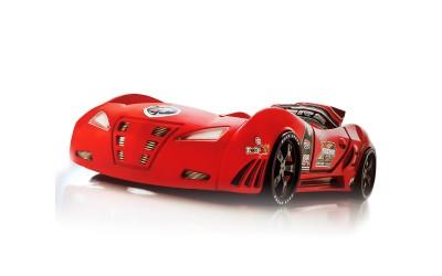 Детско легло спортна кола M3 Full червена
