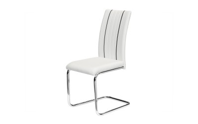 Трапезен стол К298 - бял