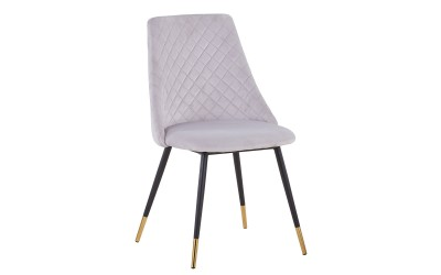 Трапезен стол К311 - светло сив
