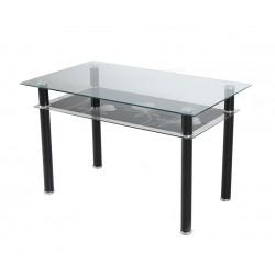 Трапезна маса EVAN с принт стъкло