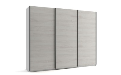Голям гардероб с три плъзгащи врати МОД 9 - Бор Касина - 270 см.