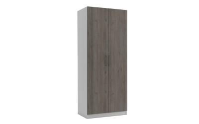 Двукрилен гардероб МОД 2 - Дъб Давос Трюфел - 90 см.