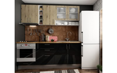 Кухненско обзавеждане Хит и Елит 3 - 210 см. - с цял термоплот