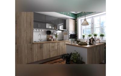 Кухненско обзавеждане Хит и Елит 12 - с цял термоплот