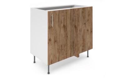 Долен кухненски шкаф за ъгъл Хит М7 Амалфи - 100 см.