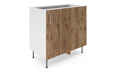 Долен кухненски шкаф за ъгъл Хит М7 Амалфи - 90 см.