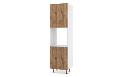 Колонен кухненски шкаф Хит М12 Амалфи за вграждане на фурна - 60 см.