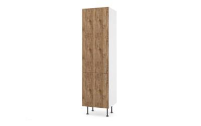 Колонен кухненски шкаф Хит М13 Амалфи за вграждане на хладилник - 60 см.