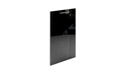 Долен кухненски модул МДФ Елит М52 Черно гланц за вграден на ел. уред - 45 см.