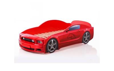 Легло - кола модел МУСТАНГ LIGHT PLUS в червено