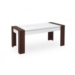Холна маса Росина - Венге/Бяло - 120 см.