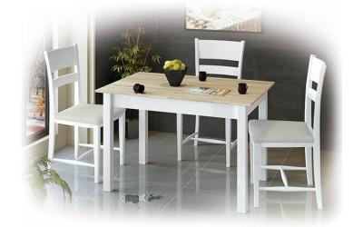 Комплект разтегателна маса Албена и столове Томи
