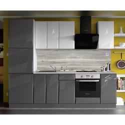 Кухня MDF Гланц 260 с термоплот и термогръб