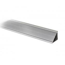 Алуминиева водобранна лайсна - 45°