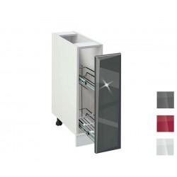 Долен кухненски шкаф бутилиера Гланц MDF 201 Б - 20 см.
