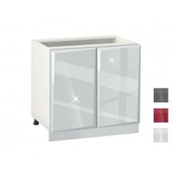 Долен шкаф за кухня Гланц MDF 1002 - 100 см.