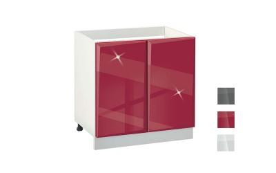 Долен кухненски шкаф за мивка Гланц MDF 800 - 80 см.