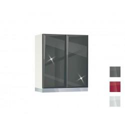 Горен кухненски шкаф за абсорбатор Гланц MDF 60 А - 60 см.