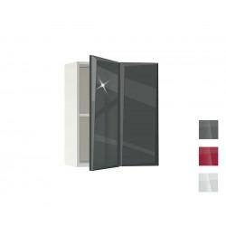 Горен кухненски шкаф за ъгъл Гланц MDF 61 - 60 см.