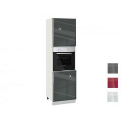 Колонен кухненски шкаф за фурна Гланц MDF 602 Ф - 60 см.