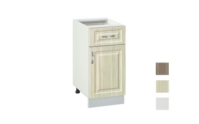 Долен шкаф с рафт и чекмедже Винтидж 411