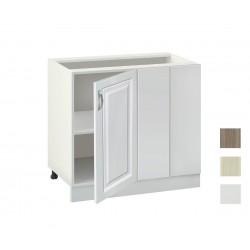 Долен кухненски шкаф за ъгъл Винтидж MDF 1001 - 100 см.