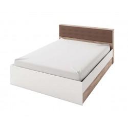 Легло Класик 953 - 160/200 - Дъб суров/Бяло гладко