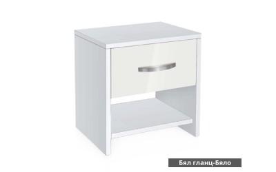 Нощно шкафче Ава 2 - корпус бяло