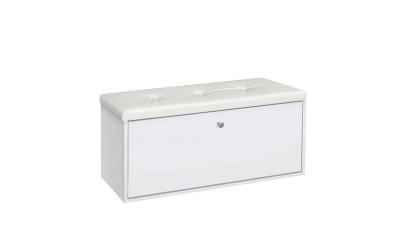 Шкаф за обувки 100 -  бяло