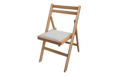 Сгъваем стол Ангел с тапицерия - Бук