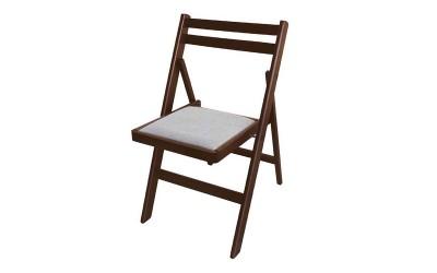 Сгъваем стол Ангел с тапицерия - Орех