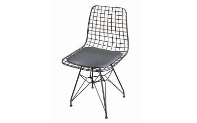 Трапезен стол Телини - Черен