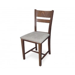 Стол Томи с тапицерия - Орех