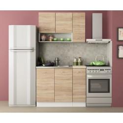 Кухненски комплект Алис 1 - Дъб сонома / Бяло