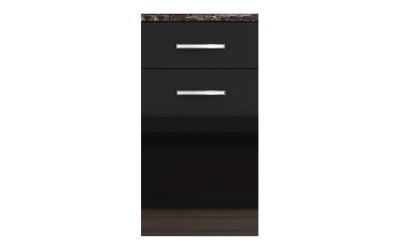 Долен кухненски шкаф с чекмедже и врата Елинор В74 МДФ - 45 см.