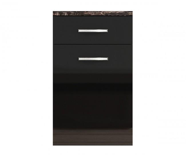 Долен кухненски шкаф с чекмедже и врата Елинор В75 МДФ - 50 см.