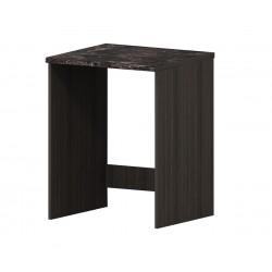 Долен кухненски шкаф Елинор В53 за свободно стояща пералня - дъб карбон - 65 см.