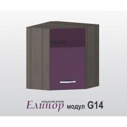 Горен шкаф за ъгъл - Елинор G14