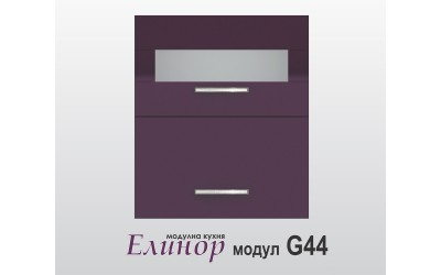 Горен кухненски шкаф Модул Елинор G44 МДФ - 60 см.