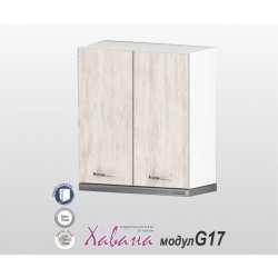Кухненски шкаф за аспиратор Хавана G17 60 см. - дъб бланко