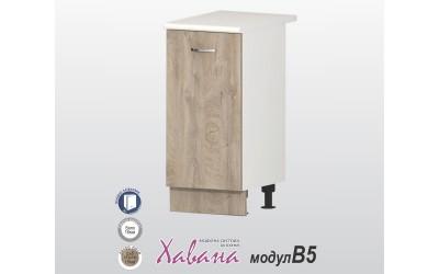 Кухненски долен шкаф Хавана B5 40 см. - дъб норте