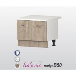 """Кухненски шкаф за """"Раховец"""" Хавана B50 60 см. - дъб норте"""
