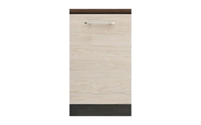 Долен кухненски шкаф Ванеса B26 с една врата - рокфорд лайт/дъб карбон - 50 см.