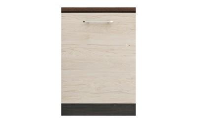Долен кухненски шкаф Ванеса B6 с една врата - рокфорд лайт/дъб карбон - 60 см.