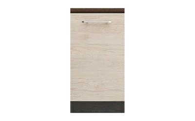 Долен кухненски шкаф Ванеса B72 с една врата - рокфорд лайт/дъб карбон - 45 см.