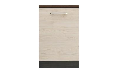 Долен кухненски шкаф Ванеса B73 с една врата - рокфорд лайт/дъб карбон - 55 см.