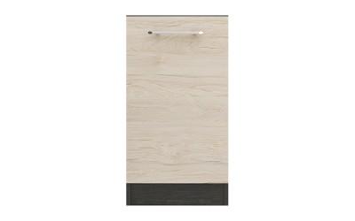 Кухненска врата Ванеса B64 за вграждане на съдомиялна - рокфорд лайт/дъб карбон - 45 см.
